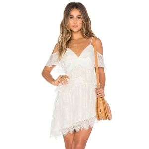 Tularosa 'Loraine' Off the Shoulders Lace Dress